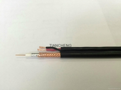 Siamese Cable RG59+2*0.75 square millimeter
