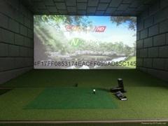 美国GC2室内高尔夫模拟器  模拟高尔夫