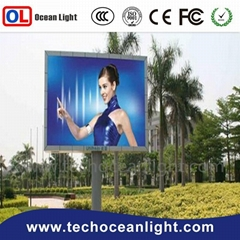P10 320*160mm DIP outdoor led display ourdoor led screen for advertising