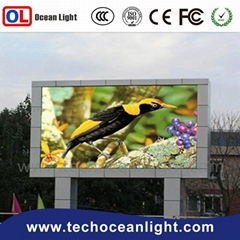 P10 outdoor led large screen display