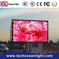 outdoor bus led display screen 7 segment