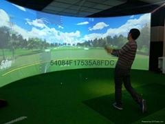 北京室内高尔夫模拟器13911337016