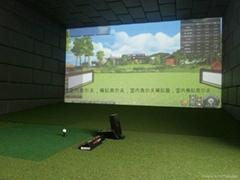 室内高尔夫移机