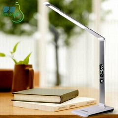 2016 Best Selling DC12V/1A/12W Touch Dimming LED Desk Lamp with LCD Screen