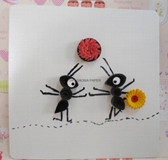 Manufacturers low direct selling quilling card DIY handmade cards