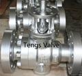 High pressure cast steel ISO flange top