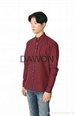 Tartan Check Cotton Shirts