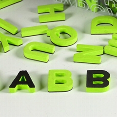 Safety Customized Soft EVA Letter Fridge Magnets