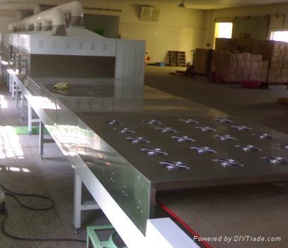 黃粉虫微波烘乾設備 2
