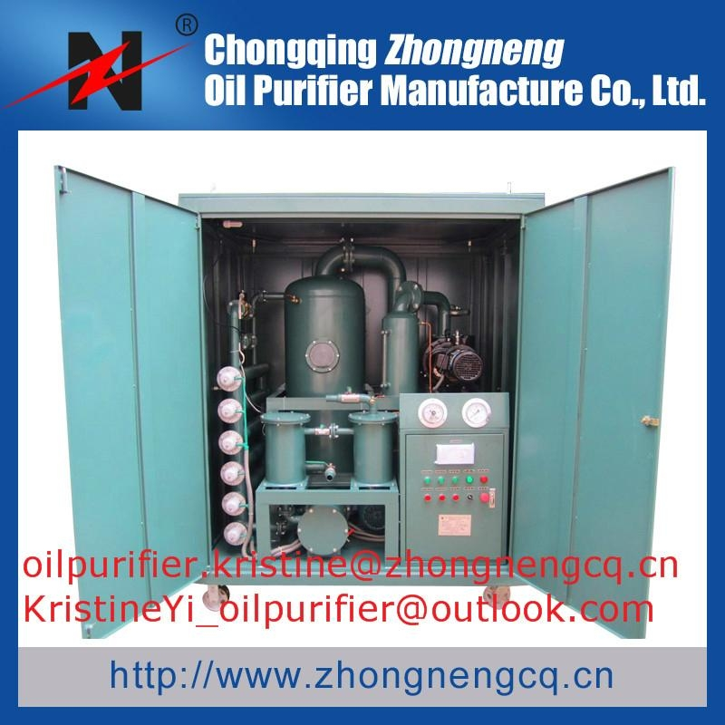 ZYD-W New Housing Type Vacuum Transformer Oil Purifier 1