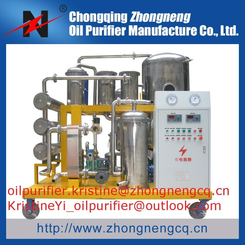 COP Vacuum Used Cooking Oil Purifier 3