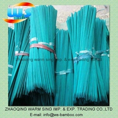 Flower bamboo stick