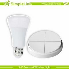 wireless smart dimmer light