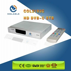 COL2193C catv system HD DVB-C Cable TV Set Top Box