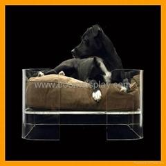 Acrylic Pet Dog Bed