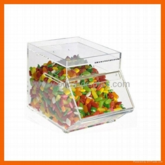 Costom made Clear Acrylic Candy box