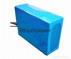 36V50Ah鐵鋰動力電池可用於高爾夫球車