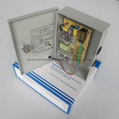 集中供电电源箱4路输出12V5A60W