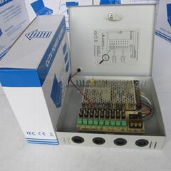 12V60W9路电源箱