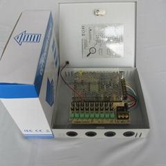 12V100W9路电源箱