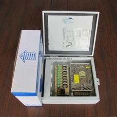 9路120W防水安防监控电源箱12V10A