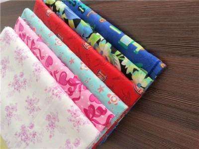 Cotton brushed fabric 1