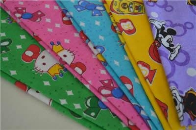 printed flannel fabric 1