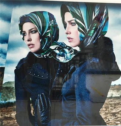 lurex glitter hijab scarf 1