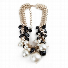 fashion jewelry 2015 pearl necklace