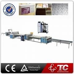 China Supplier PVC MDF Profile Automatic PUR Hot Melt Glue Adhesive Laminating M