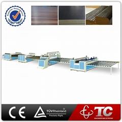 Wood Glue Adhesive Press Thermal Fully Automatic Thermal Laminating Machine
