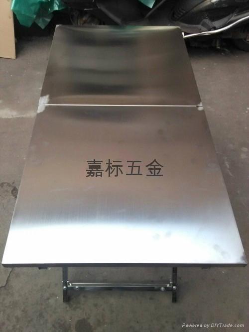 全不鏽鋼  折疊桌 休閑燒烤桌  2
