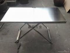 全不锈钢  折叠桌 休闲烧烤桌