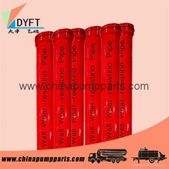 Factory price wear-resisting st52 concrete pump delivery pipe and spare parts