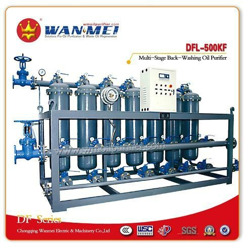 Multi-Stage Back-Washing Oil Purifier DFL Series 1