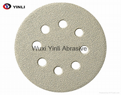 Popular Abrasives Coated Hook And Loop Sanding Paper Disk