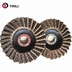 5'' Abrasive Non Woven Nylon Flap Wheel