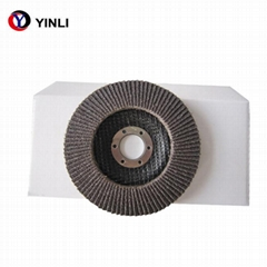 abrasive calcined aluminium oxide flap disc for angle grinder