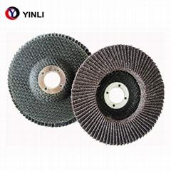 5''*7/8'' Abrasive calcined aluminium oxide Flap Disc grit 60 for metal t27/t29
