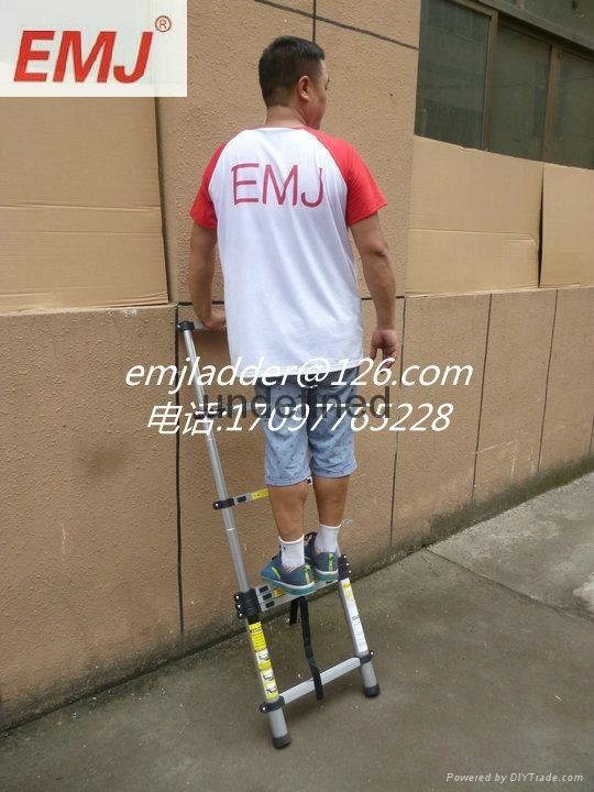EMJ益美健2米单面伸缩梯 2