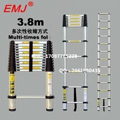EMJ益美健3.8米单面伸缩梯