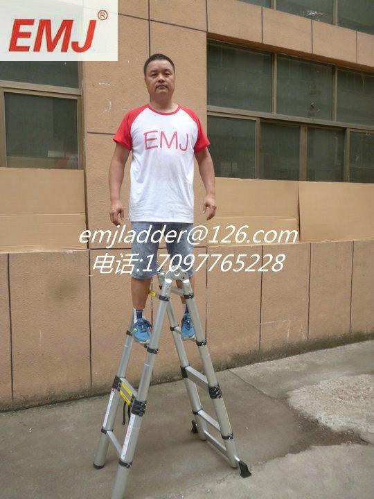 EMJ益美健3.8米两用式伸缩梯 2