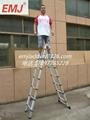 EMJ益美健4.4米两用式伸缩梯 2