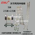 EMJ益美健5米两用式伸缩梯