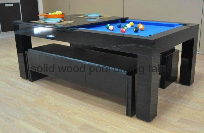 7ft pool table with dining top pt5 china manufacturer billiards sport products products - Best billiard table manufacturers ...