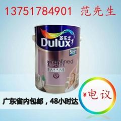 广东广州多乐士抗甲醛五合一无添加墙面漆