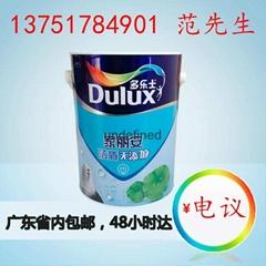 广东广州多乐士洁盾无添加墙面漆