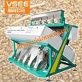 Hot sale wheat color sorter machine