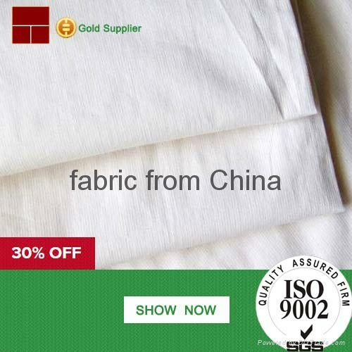 100% cotton grey fabric manufacturers from China 3