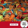 2016 fashion fabric hot  sale 100 cotton wax african fabric